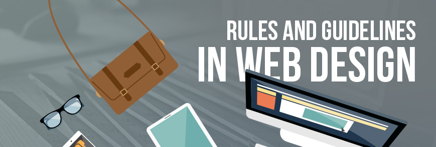rules guidelines in web design