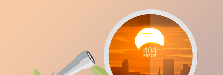 Convert 404 Error Pages Into Opportunities