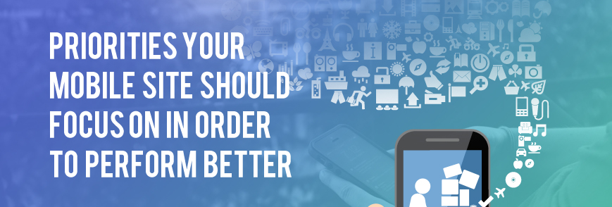 priorities for your mobile commerce site