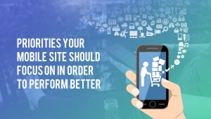 mobile commerce priority and mobile site strategy