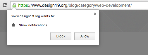 how to allow website through chrome