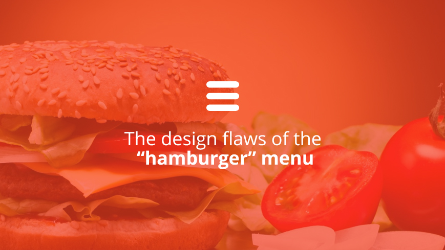 Hamburger menu - why to use/avoid this navigation solution