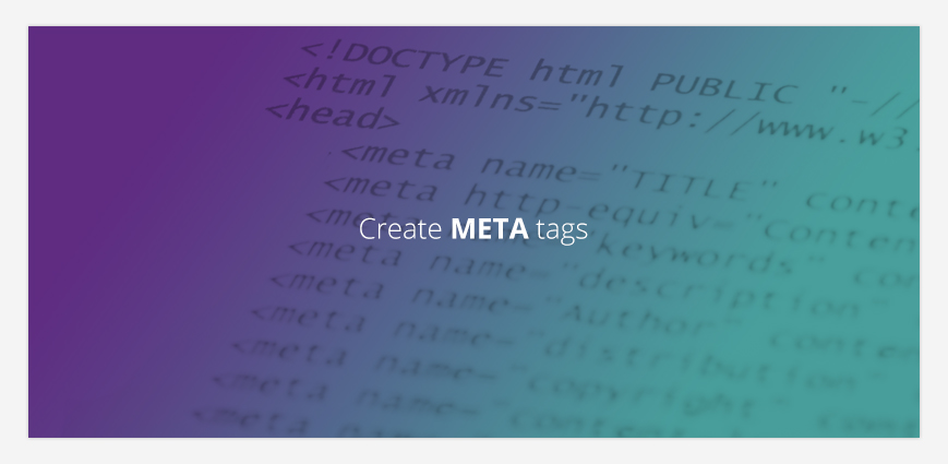 Create the right META tags for your SEO article
